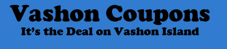 Vashon Coupons