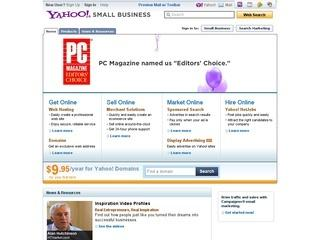 Yahoo Hosting - Big Savings